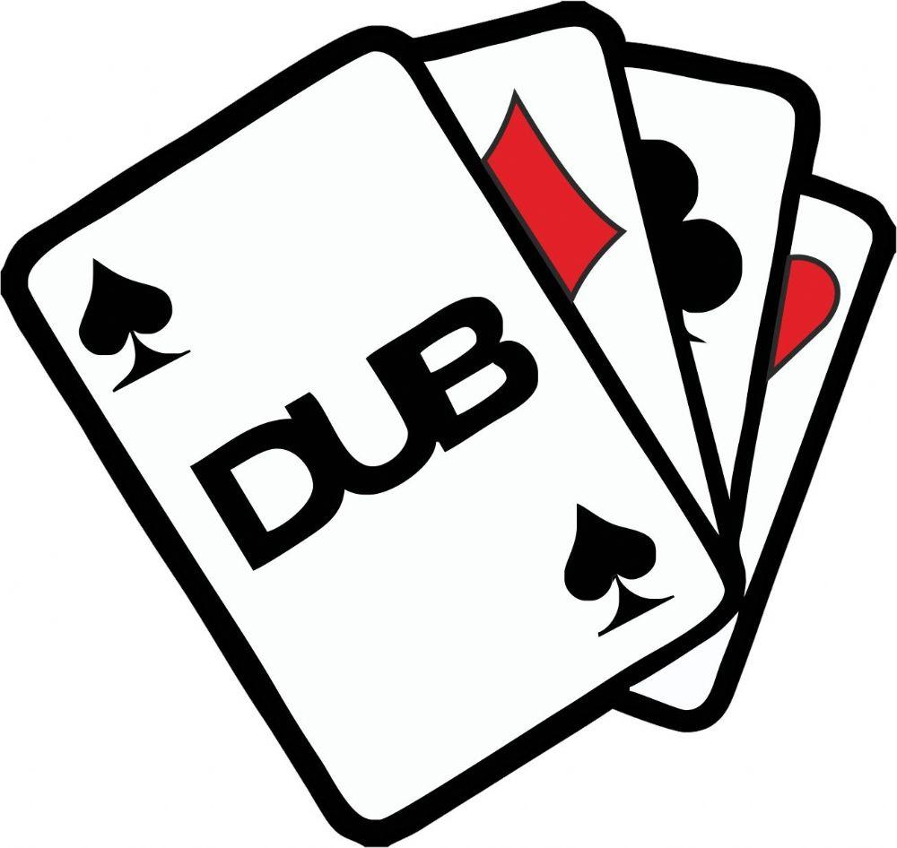 DUB ACE CARDS CLUB Funny Rat Look Euro Style Vinyl Car